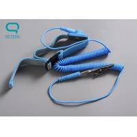 Buy cheap Easily Adjustable ESD Wrist Strap , Anti Static Wrist Strap With Great from wholesalers