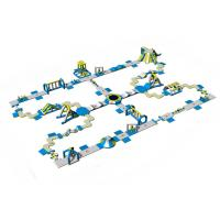 Buy cheap TUV Certificate Aqua Park Inflatable Floating Water Games / Water Sports from wholesalers