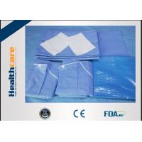 Buy cheap New Design Disposable Surgical Packs Sterile C-section Pack With Mayo Cover from wholesalers