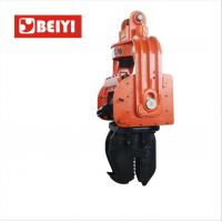 Buy cheap BeiYI 300mm Prestressed Concrete Pipe Vibratory Pile Hammer High Frequency from wholesalers