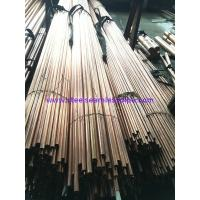 Copper Brass Seamless / Welded Inconel Tubing ASTM 135 ASTM B43 For Refrigerator Manufactures