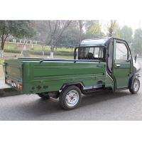 Hand Foot Brake Electric Cargo Tricycle 60V3000W Motor Green Power Disc Brake Manufactures