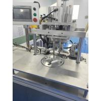 Stable Performance Semi Auto Non Woven Mask Making Machine Aluminum Alloy Structure 220V / 50Hz Manufactures