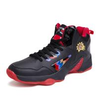 Sweat Absorbant Anti Slip Basketball Shoes , High Neck Basketball Shoes Manufactures