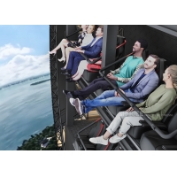 11 Meters Tall 4D Immersive Flying Cinema for City Propaganda Education Manufactures