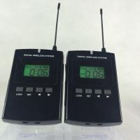 Portable 008C Wireless Audio Guide System 800Mhz Tour Guide Device CE / ROHS Certification Manufactures