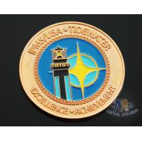 Iron Die Strucking Custom Challenge Coins Promotional Items Cut Edge Manufactures