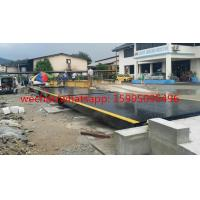 Buy cheap Hot Galvanized Truck Weigh Scales 3 X 18m 80t Carbon Steel Portable Weighbridge from wholesalers