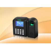 Buy cheap Smart Fingerprint Time Attendance System 1 Year Warranty With T9 Input from wholesalers