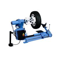 Low Profile Semi-auto Car/ Truck Tyre Changer 3ph / 400V / 50Hz With Double Helper Arm Manufactures