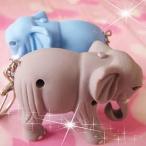 2012ovely led animal light,sound plastic elephant