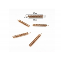 ISO Anti Vibration 37mm 3Dbi 433mhz Spring Antenna Manufactures