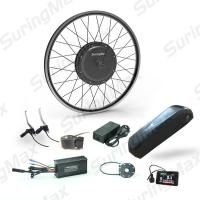 Brushless Gearless Fat Bike Hub Motor With 48V11.6AH LG Cell Lithium Battery Manufactures