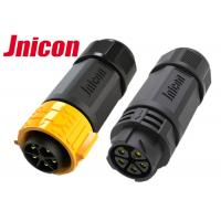 Male Female IP67 Waterproof Connector PPA M25 Straight Aviation Inline Manufactures