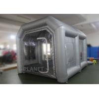 Eco - Friendly Small Mobile Inflatable Spray Booth Easy To Install CE UL EN14960 Manufactures