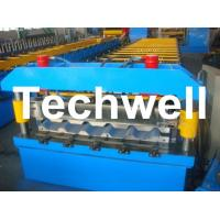 Metal Trapezoidal Roof Panel Roll Forming Machine for Making Trapezoidal Roof Panel Manufactures