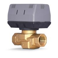 Buy cheap 2 Way / 3 Way Brass Motorized Zone Valve 1.6MPA For Cold And Hot Water from wholesalers