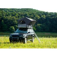 Outdoor Adventure Car Roof Camper Tent , 2 Person Aluminium Roof Top Tent Manufactures