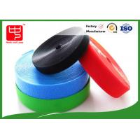 Colorful Hook And Loop Velcro Rolls / Soft Heavy Duty Hook And Loop Manufactures