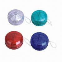 Yo-yos, Promotional Gift, Customized Designs/Logo Printings Accepted, Eco-friendly Manufactures