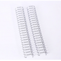 Buy cheap Notebook Wire Spiral Binding , 3/8 Inch Electroplating Double Wire Ring from wholesalers