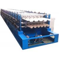 Fast Speed Roof Sheet Double Layer Roll Forming Machine For 75mm Shaft Diameter Manufactures