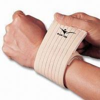 Wrist Wrap, Made of Breathable Elastic Material, One Size Fits All Manufactures