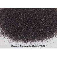 Quick Cutting Force Brown Aluminum Oxide Finish F12 - F220 For Deburring Manufactures