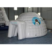 Mini Inflatable Igloo Tent / Blow Up Igloo Tent Playhouse For Rental Manufactures