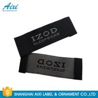 Satin Silk Printing Garment Clothing Label Tags Woven Customize Design Manufactures