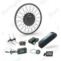 High Speed 48V 1000W Ebike Kit Brushless Hub Motor With Lithium Battery Manufactures