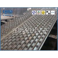 Power Plant Condensing Gas Boiler Water Wall Panels With Pins , ASME Standard Manufactures