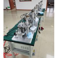 Full Automatic N95 Surgical Mask Making Machine With CE Certificate , FFP2 Mask Machine Manufactures