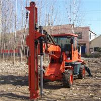 Hot sale hole drilling machine with various ground screw size Manufactures