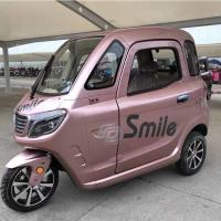 40km/H Button Start 1500W Enclosed Electric Trike Manufactures