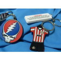 Festival Fashion Design Custom Imprinted Promotional Items Silicone Souvenir Keychain Manufactures