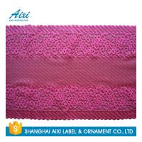 White Guipure Lingerie Lace / Dresses Guipure Lace / Guipure Chemical Lace Fabric Nylon Stretch Lace Manufactures