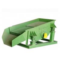 Vibrating Feed Conveyor For Block Materials Small Power GZG Series Motor Manufactures