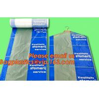 Garment Cover, Clear Poly Dry Cleaning Bags, disposable garment bags, Custom Poly Bags Manufactures