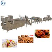 Large Capacity Chicken Feet Processing Line , Chicken Bone Cutter High Efficiency Manufactures