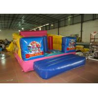 Durable Custom Made Inflatables Bounce House Slide Combo Digitally Printing 4 X 3 X 2.2m Manufactures