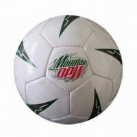 Promotional soccer football, RoHS Directive-compliant Manufactures