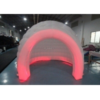 3m White Oxford Cloth Inflatable Bubble Igloo Dome Tent With Led Light Manufactures