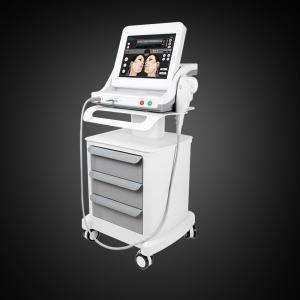 White Non Invasive Face Lift HIFU Machine Manufactures