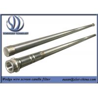 Stainless Steel Slot Tube Slot Tube Candle Filter With End Fittings Manufactures