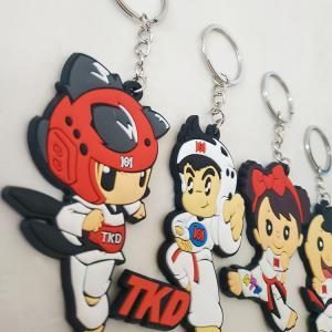 Fashion custom keychain eco Taekwondo judo key chain fashion custom keychain eco Taekwond Manufactures