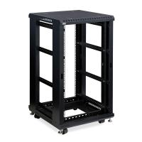22U Knockdown Open Frame Server Rack , Adjustable Wall Mount Server Rack Manufactures