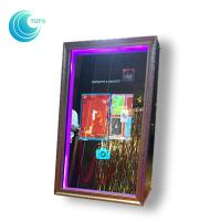 Buy cheap Diy Rental Shopping Mall Digital Automatic Selfie Mirror Photo Booth For Events from wholesalers