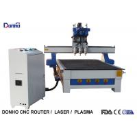 Three Spindles CNC 3D Router Machine , CNC Engraving Machine Computer Controlled Manufactures