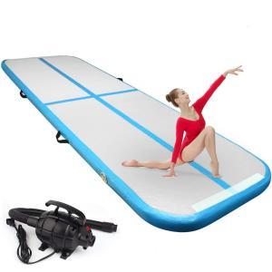 Multi Functional Inflatable 20cm Air Floor Gymnastics Mat Manufactures